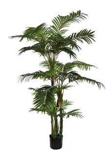 Areca Kunstpalme 150 cm grün im Topf