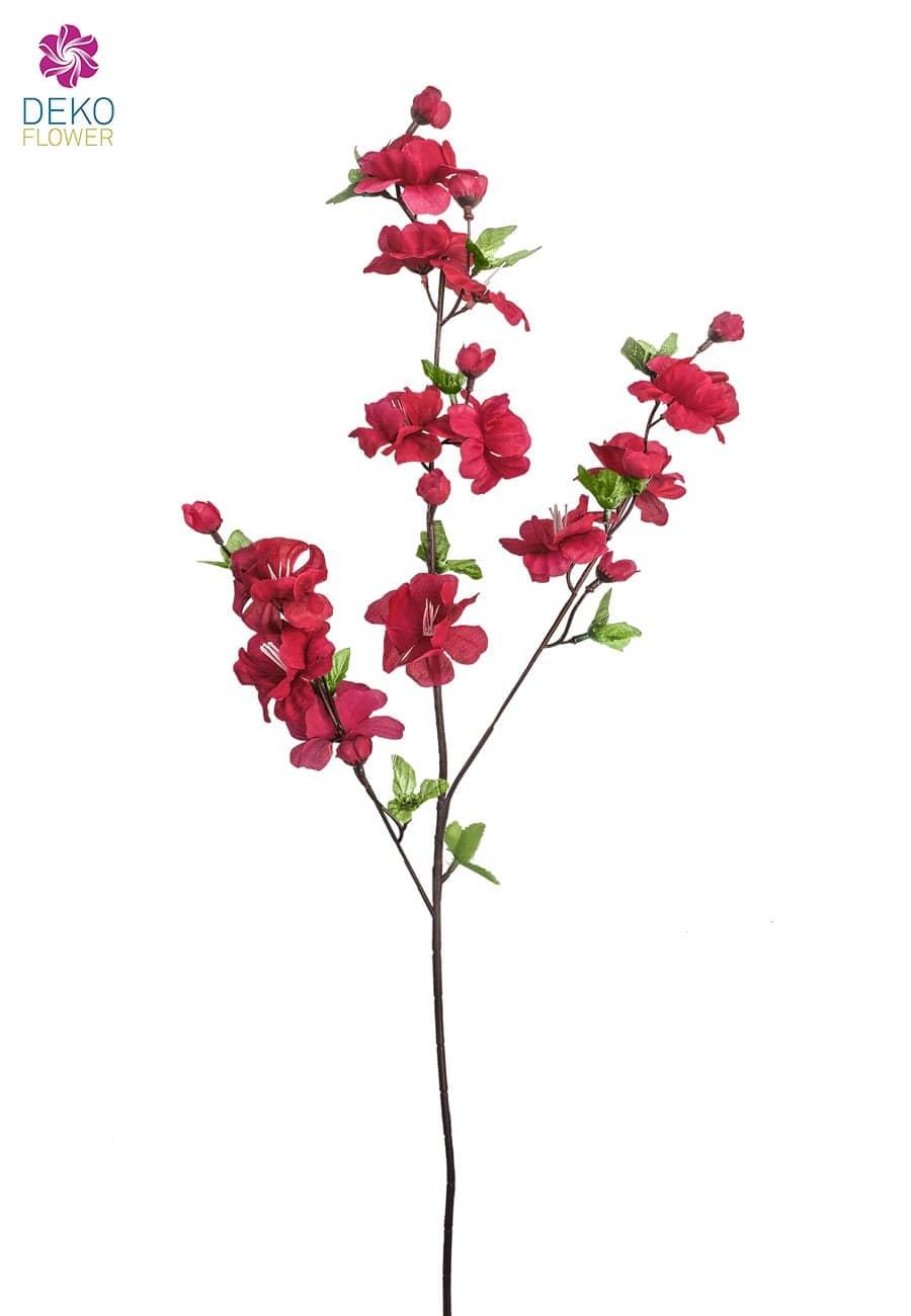 Blütenzweig Apfelblüte pink 85cm, 5er-Pack