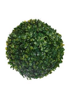 Deko Buchsbaumkugel 21 cm grün