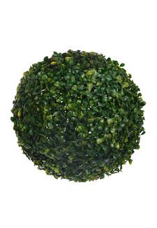 Deko Buchsbaumkugel 28 cm grün