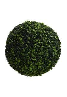 Deko Buchsbaumkugel 35 cm grün