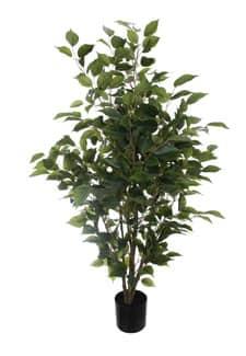 Deko Ficus Kunstbaum 120 cm grün