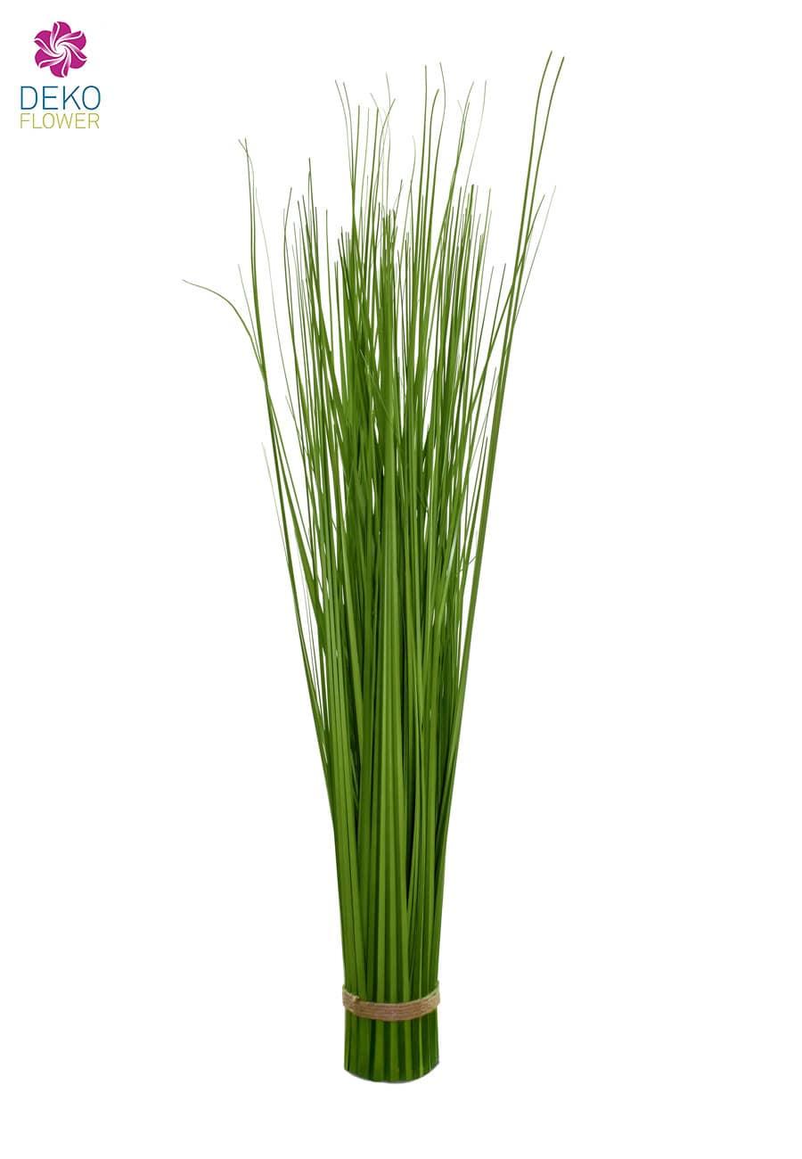 Deko Grasbündel grün 88 cm