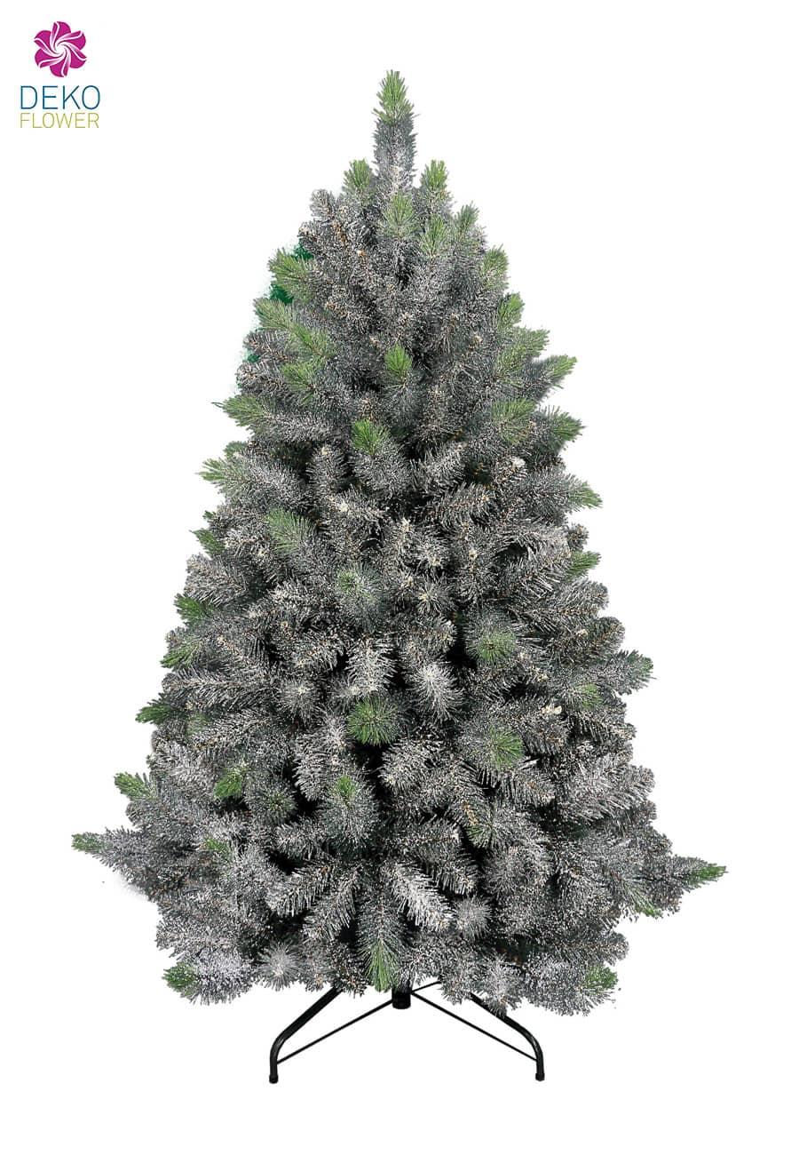 Dekoration Weihnachtsbaum.Deko Tannenbaum Glittered Arctic 150 Cm