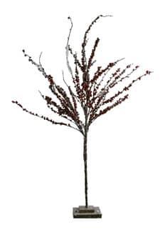 Dekobaum mit Beeren in rot 130cm