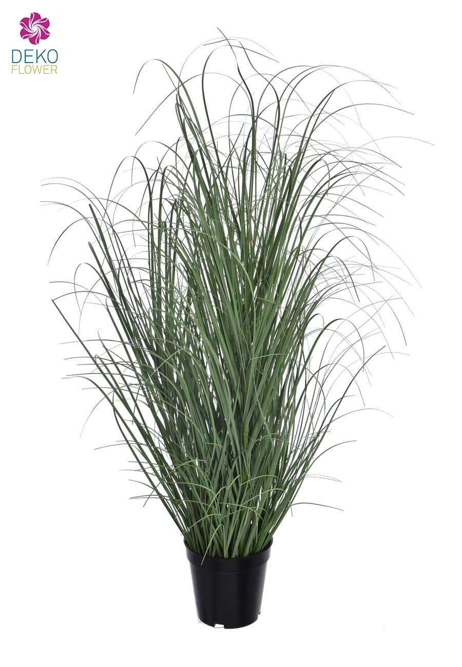 Dekogras »Wasseregge« 94 cm graugrün