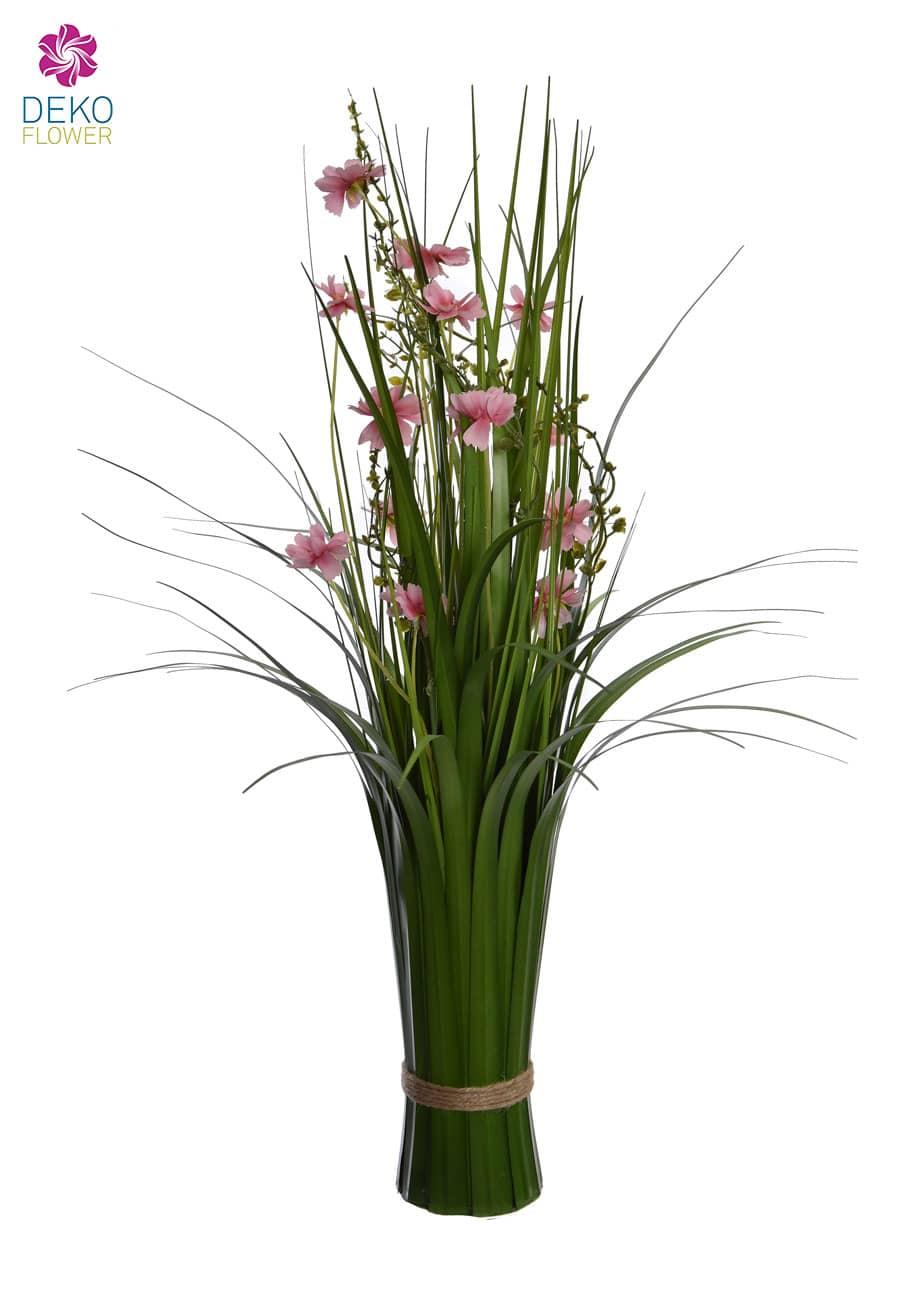 Dekogras Bündel 66 cm rosa Kosmeen