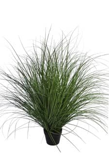 Dekogras mit Topf 98 cm grün