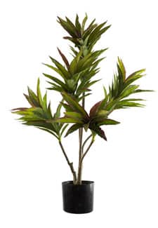 Dracaena Kunstbaum 90 cm grün