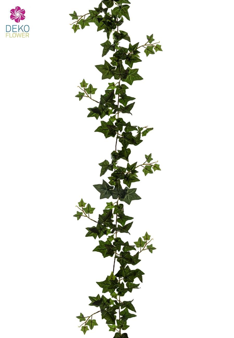 Efeugirlande Kunstranke 180 cm grün