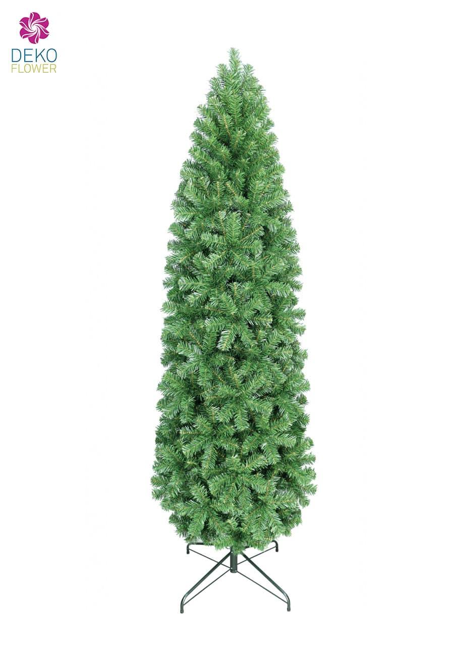 Weihnachtsbaum Slim Pencil Pine 210 cm in grün