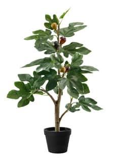 Künstliche Feigen Pflanze 60 cm mit Früchten