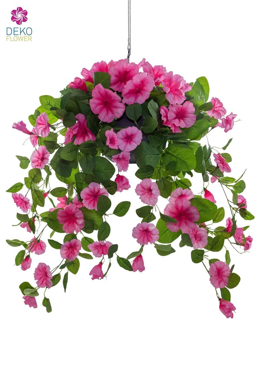 Hängepetunien pink 65 cm