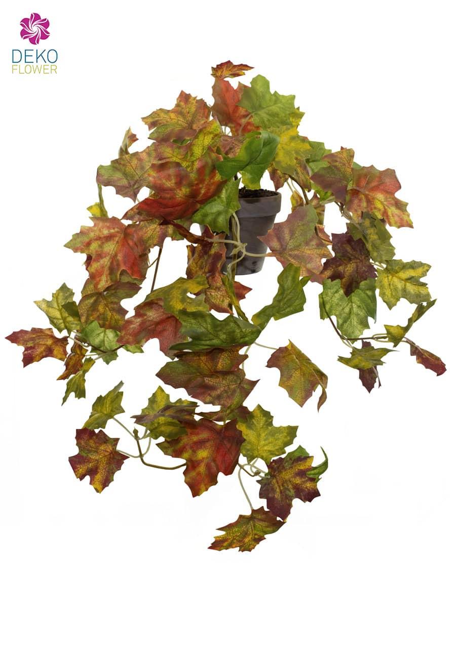 Herbstblatt Kunstranke grün 60 cm