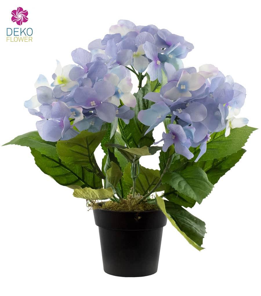 Hortensien Kunstpflanze blau 31 cm