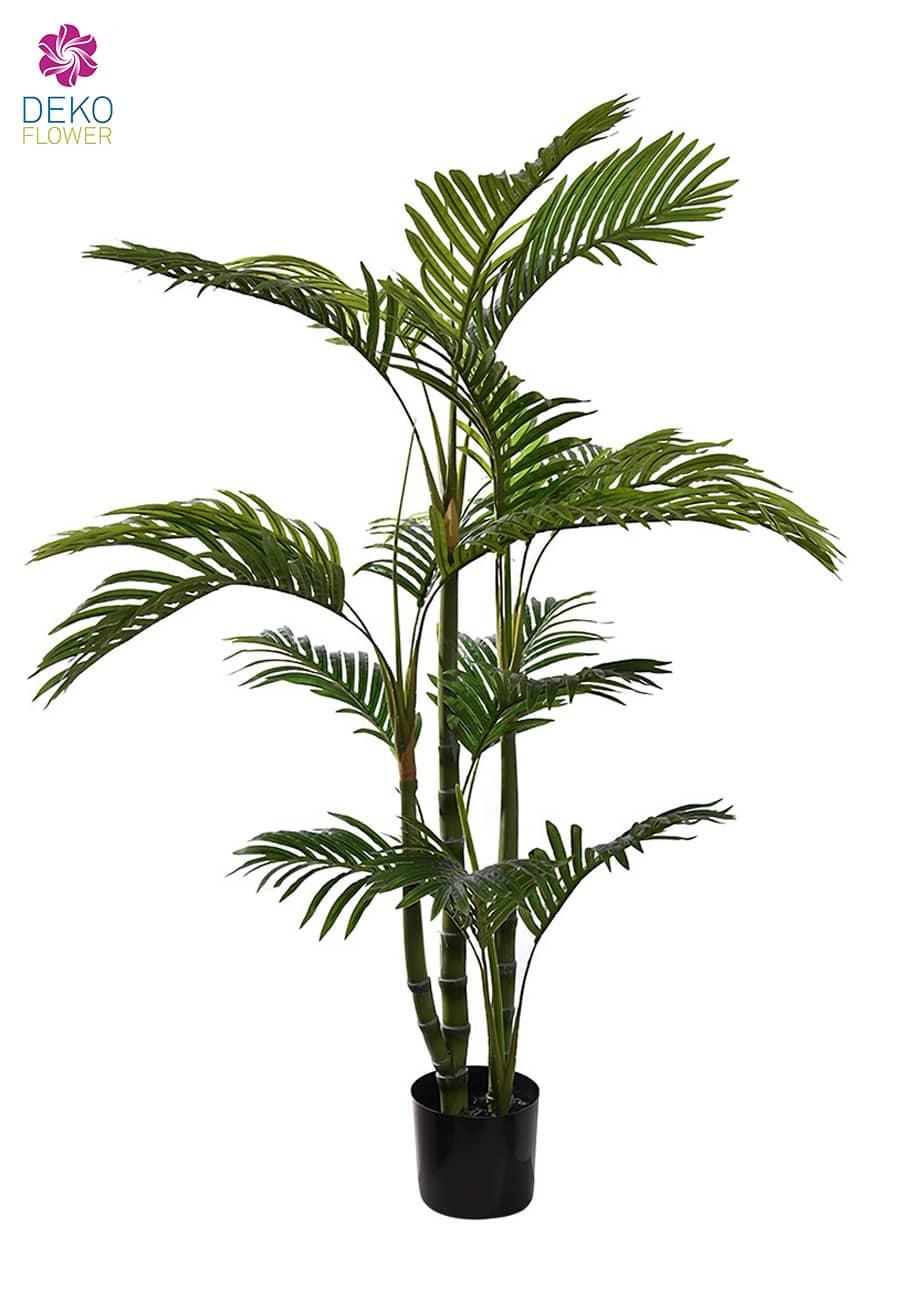 Künstliche Areca Palme getopft 120 cm