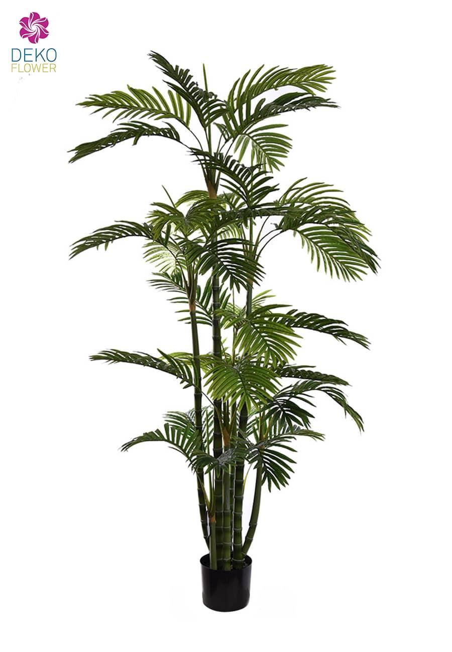Künstliche Areca Palme im Topf 180 cm