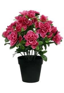 kunstblumen azaleen bl hende kunstpflanzen auf rechnung. Black Bedroom Furniture Sets. Home Design Ideas
