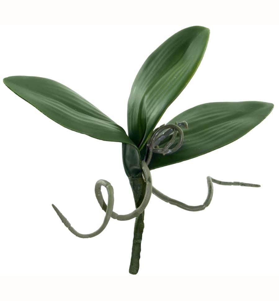 Künstliche Blätter Orchideen Luftwurzel 22cm