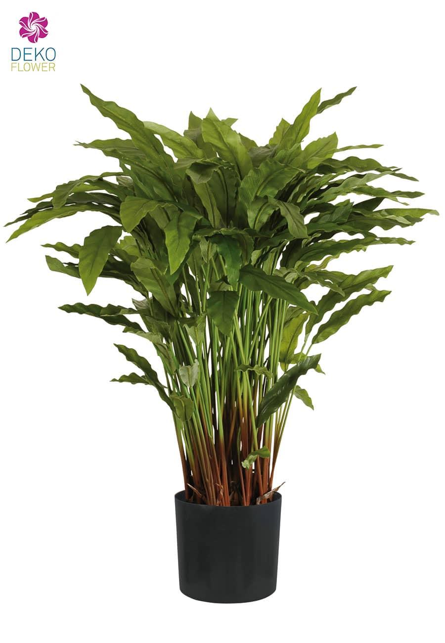 Calathea Kunstpflanze grün 90cm