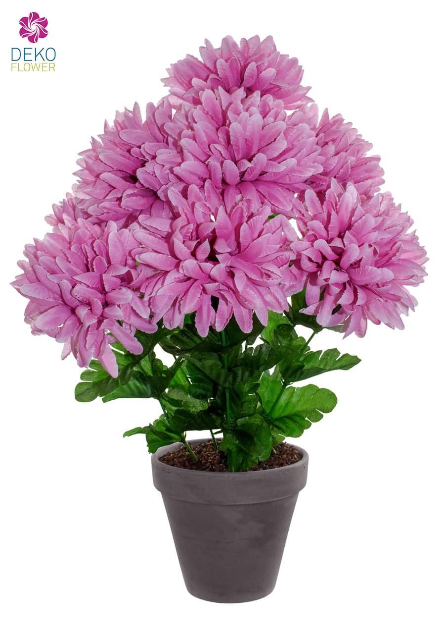 Künstliche Chrysanthemen rosa 45 cm