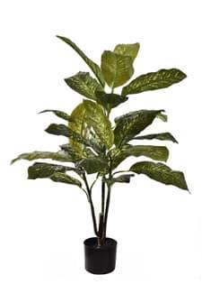 Künstliche Dieffenbachia Pflanze 100 cm grün