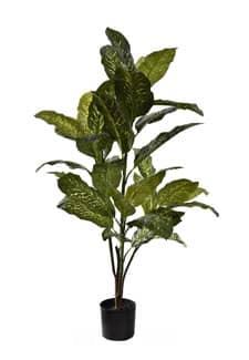 Künstliche Dieffenbachia Pflanze grün 130 cm