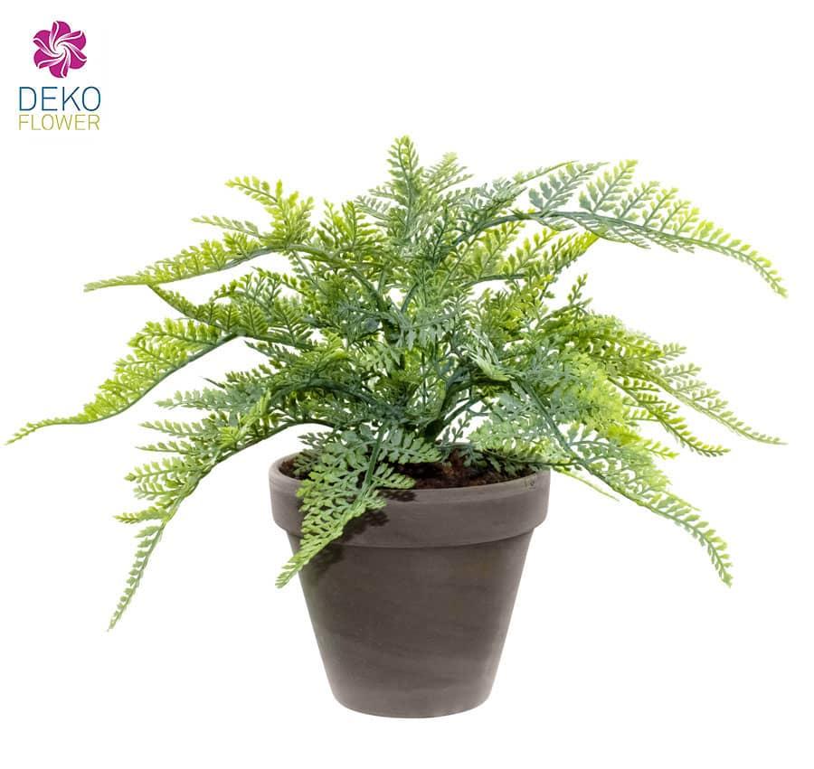 Künstliche Farn Pflanze 23 cm