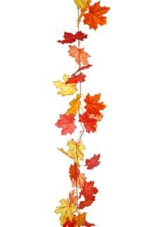 Künstliche Herbstlaub Girlande 180cm
