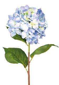 Künstliche Hortensie blau 86 cm