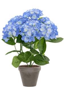 Künstliche Hortensien blau 53 cm