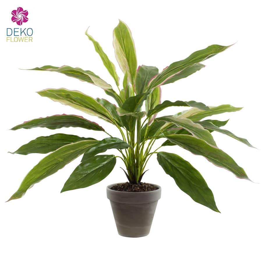 Künstliche Keulenlilie im Topf 50 cm