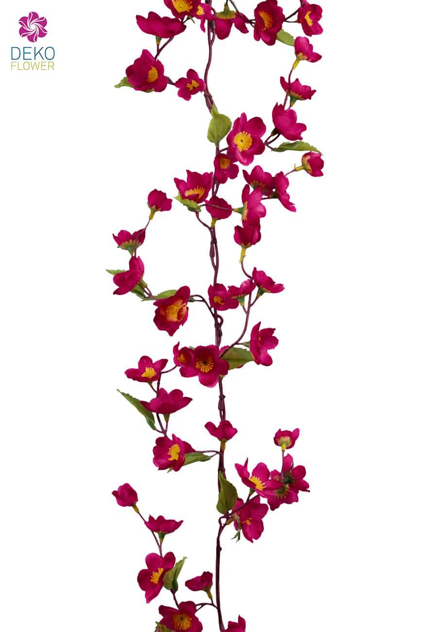 Kirschblütengirlande pink 180 cm