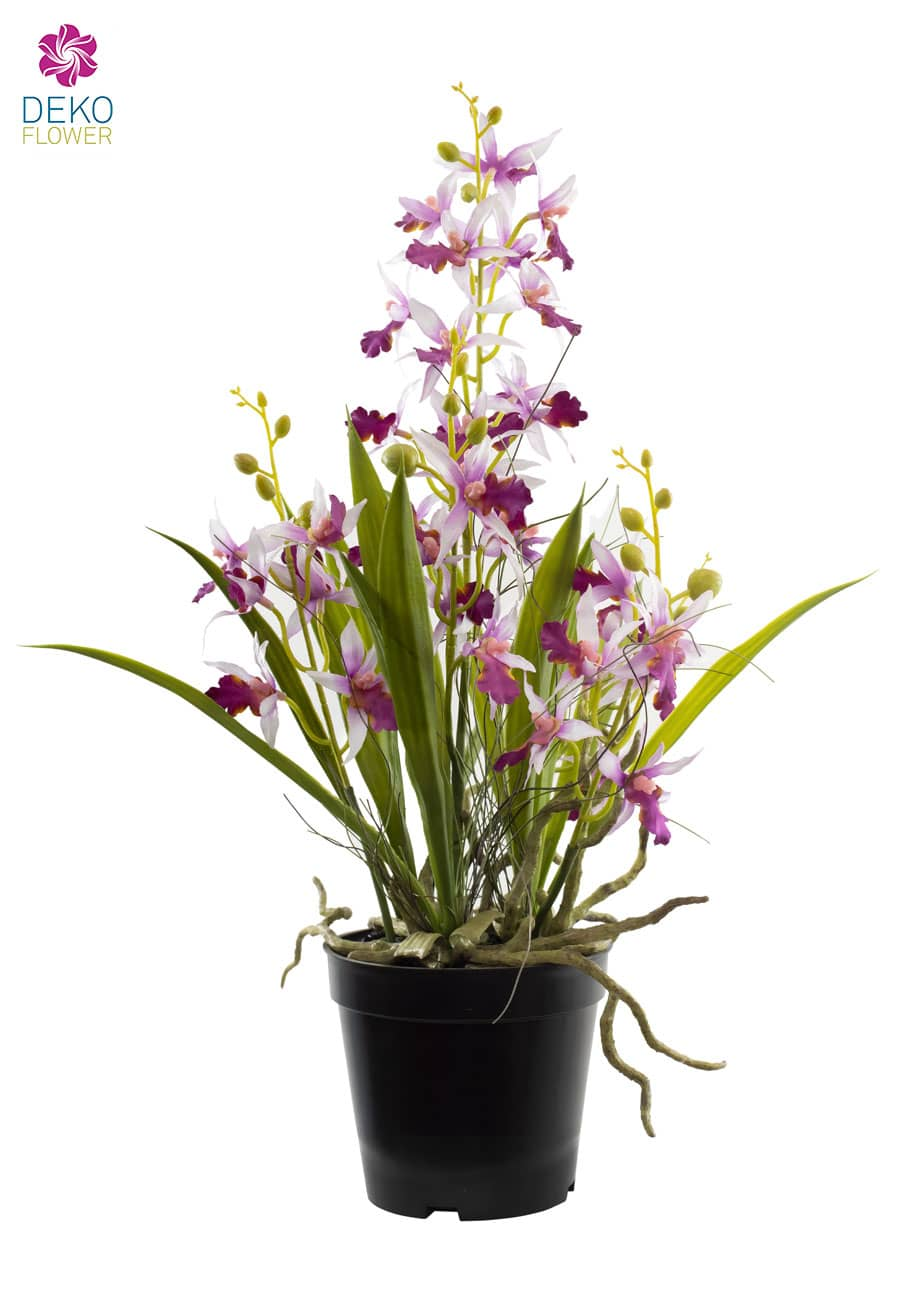 Künstliche Orchidee Oncidium lavendel 48 cm
