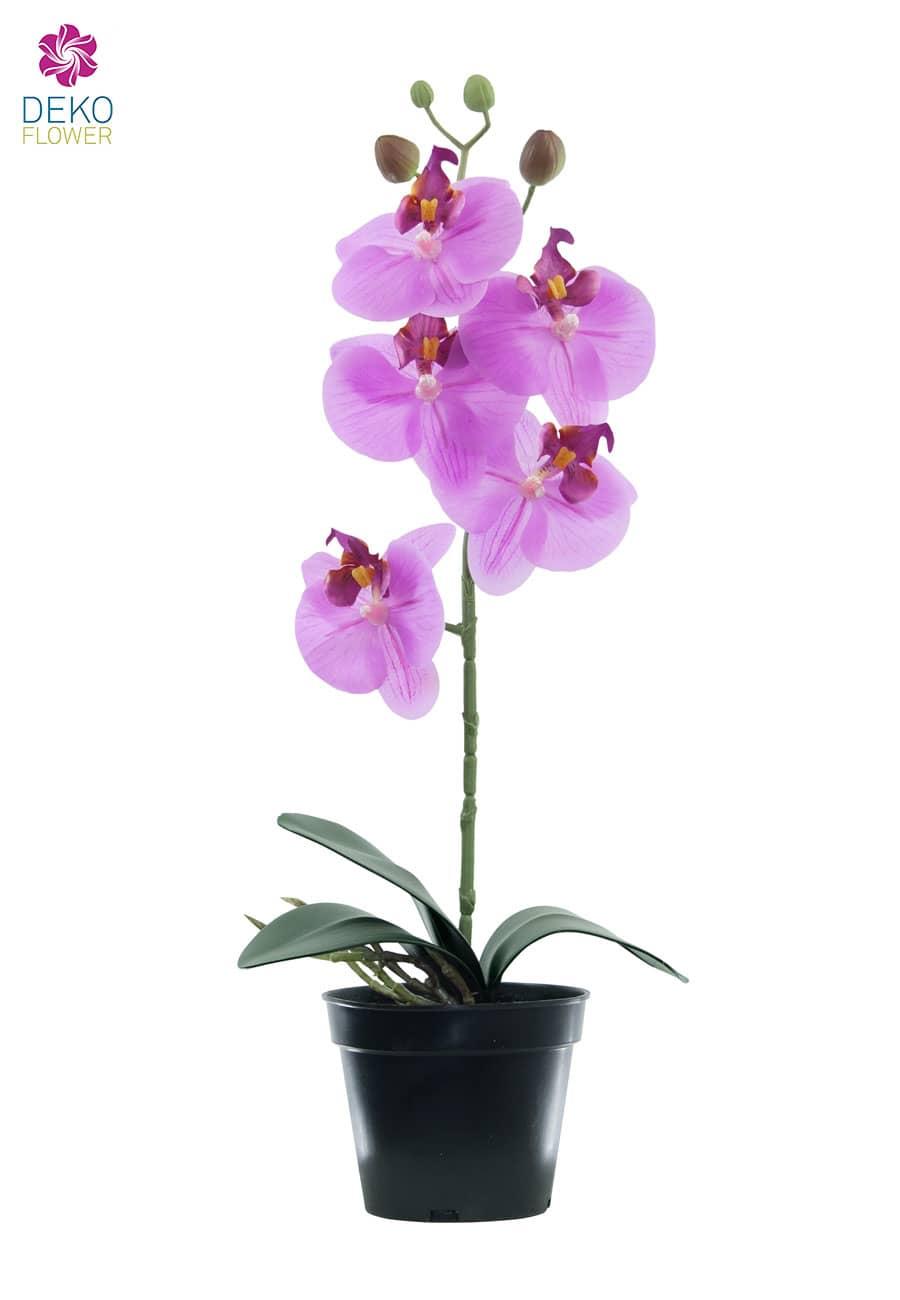 Künstliche Orchidee pink 40 cm