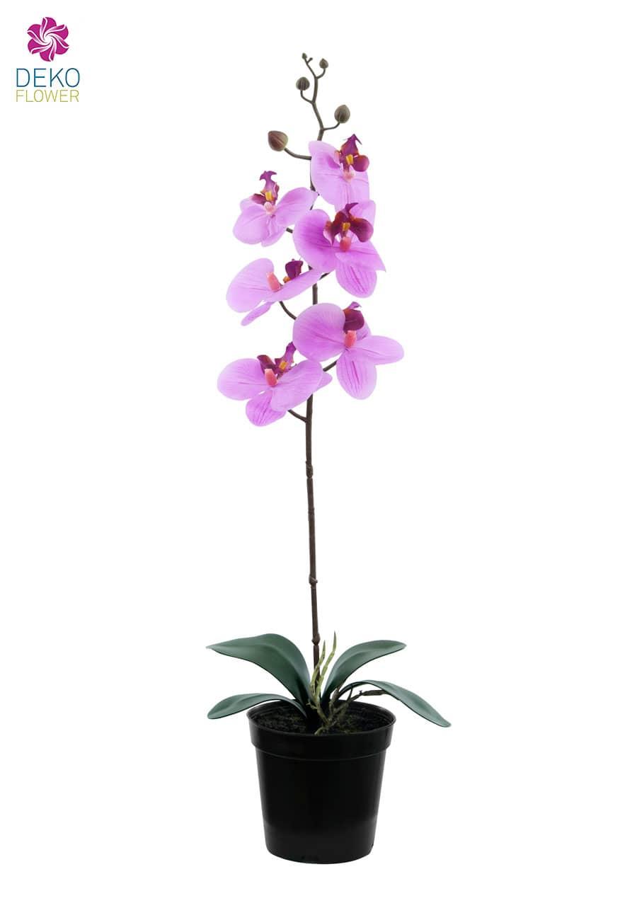 Künstliche Orchidee pink 65 cm
