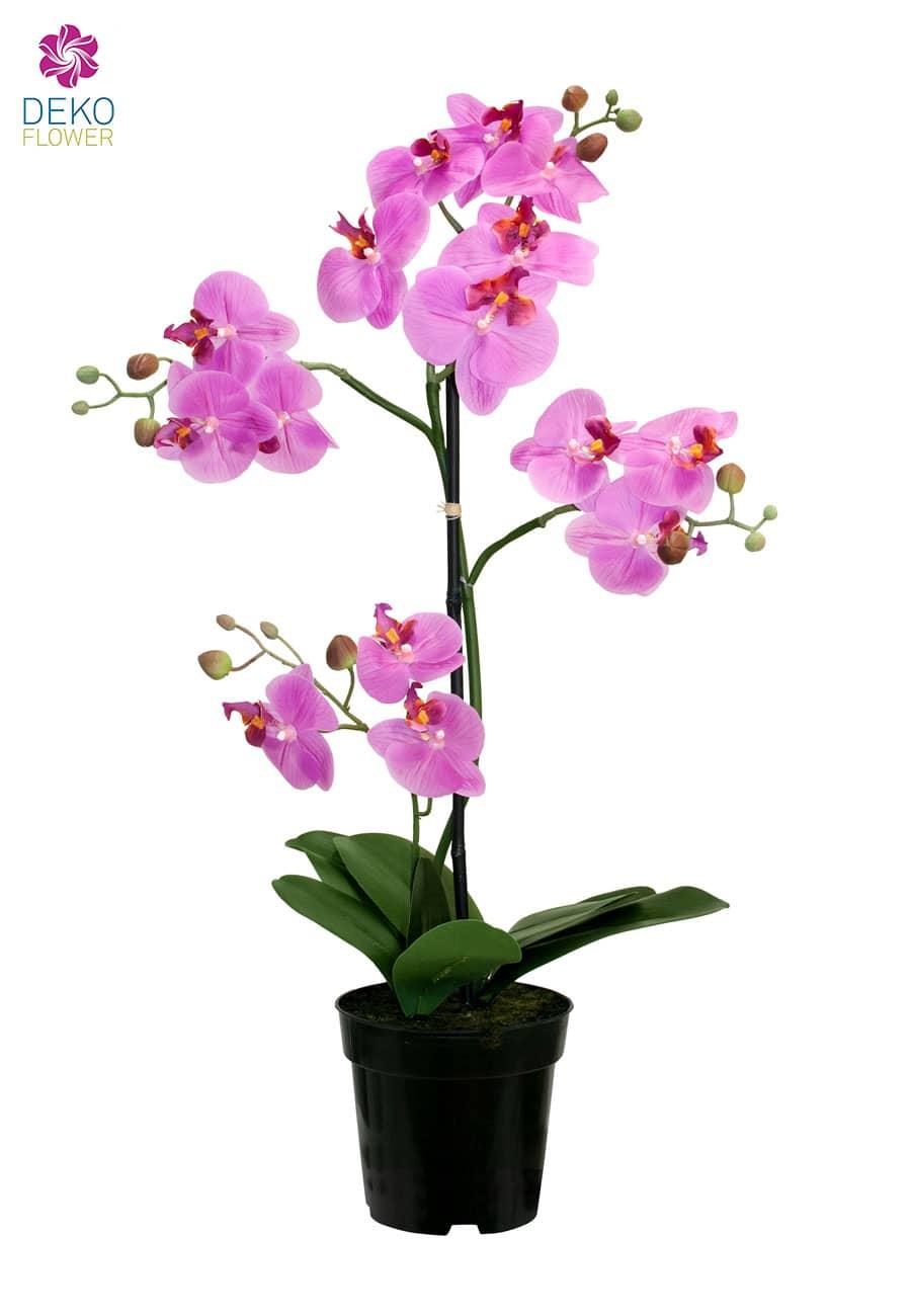 Künstliche Orchidee pink 67 cm