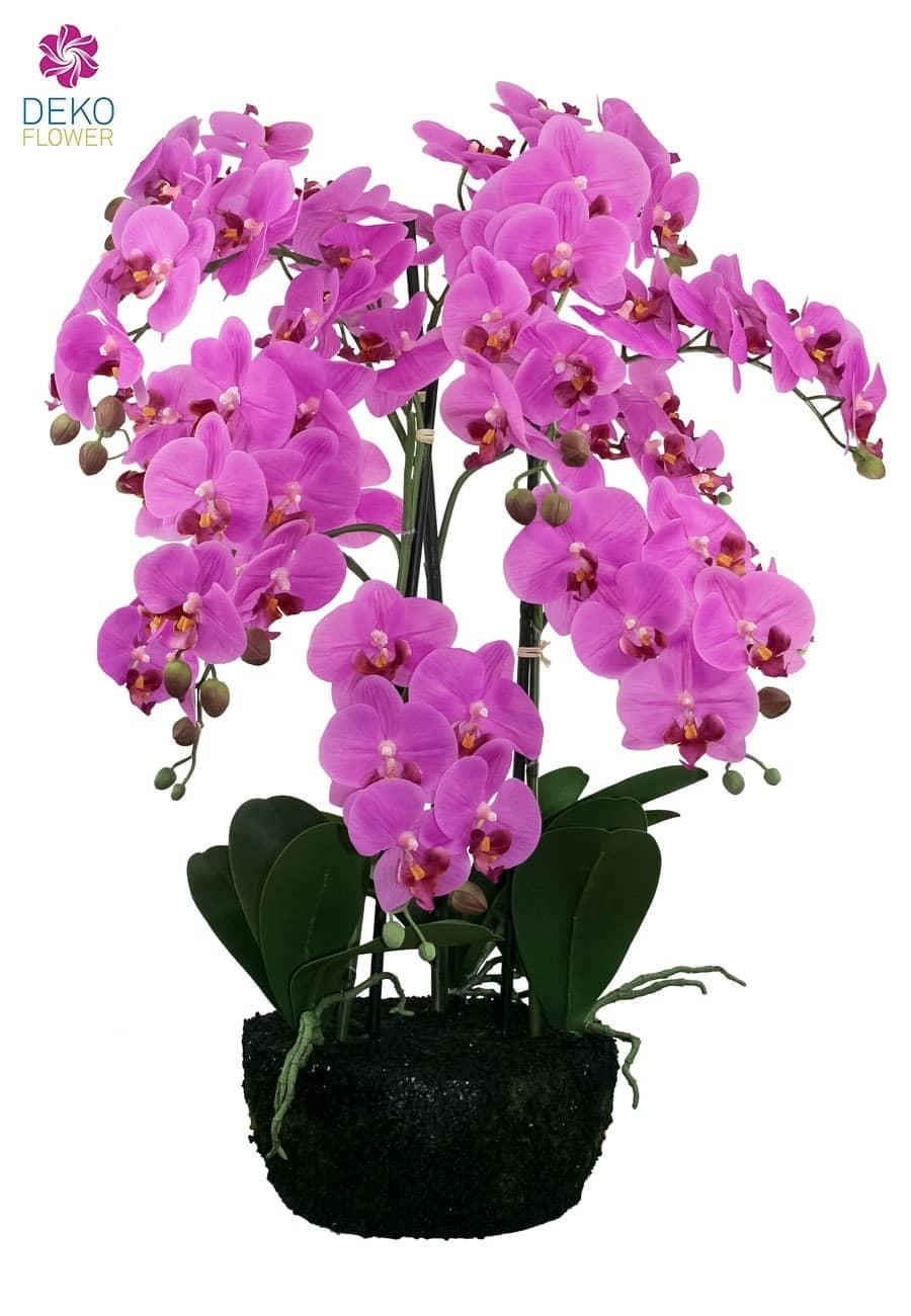 Künstliche Orchidee pink 70 cm
