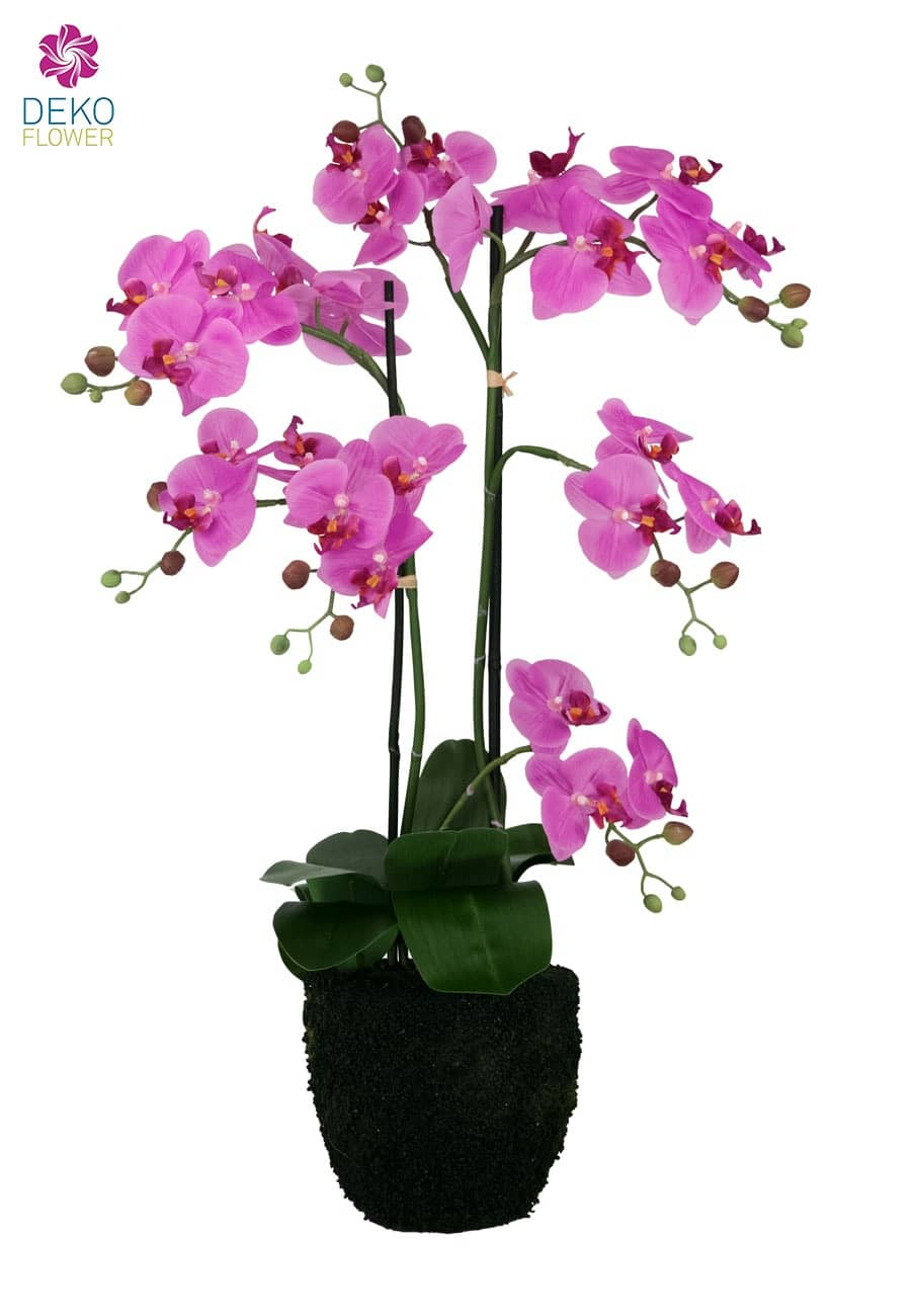 Kunst Orchidee pink 78 cm