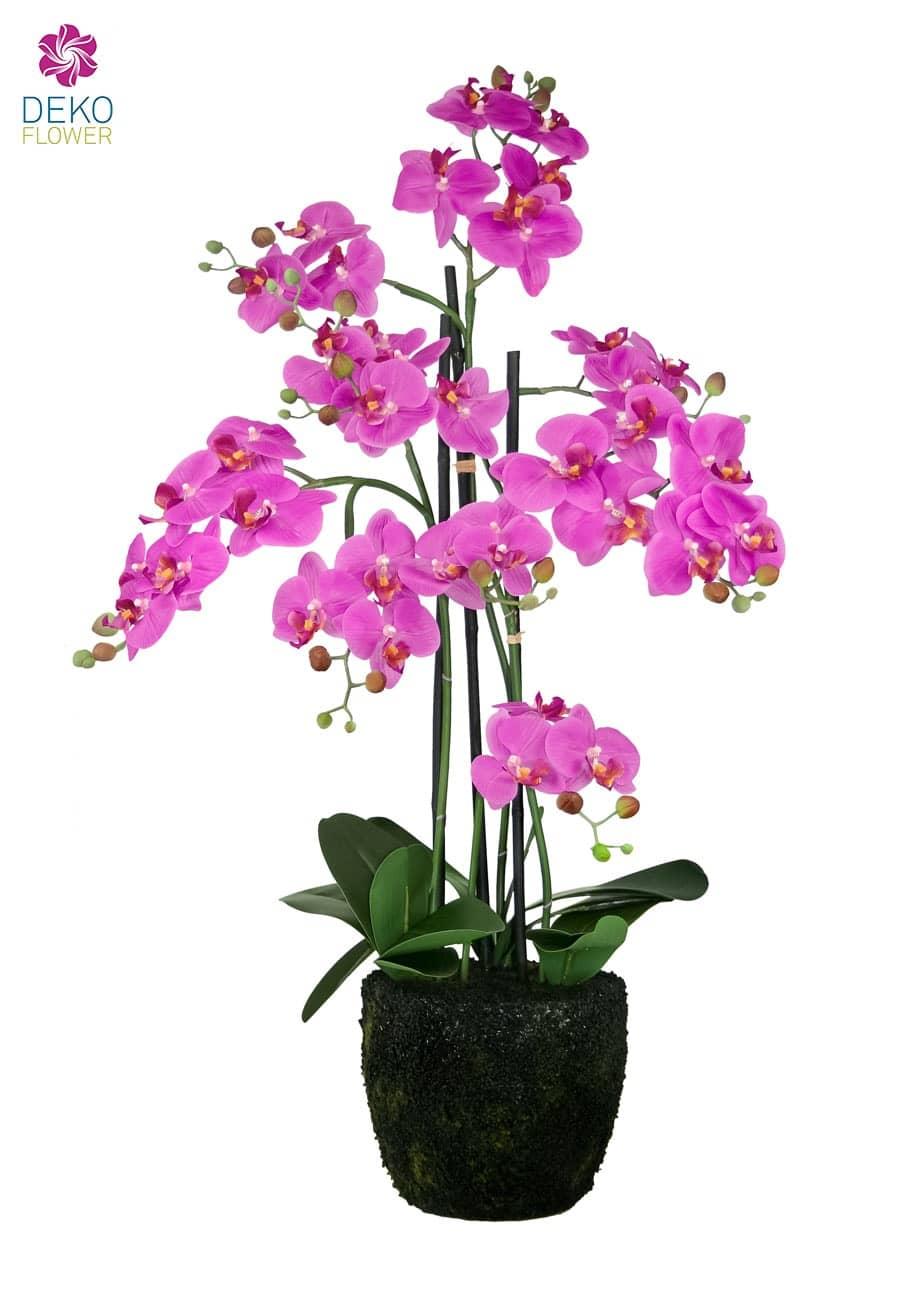 Kunst Orchidee pink 86 cm