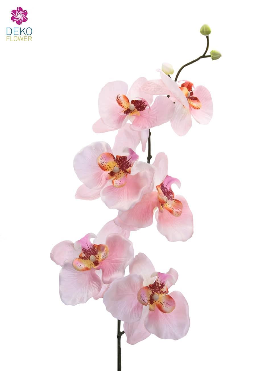 Künstliche Orchideenzweige rosa 77 cm 3er Pack