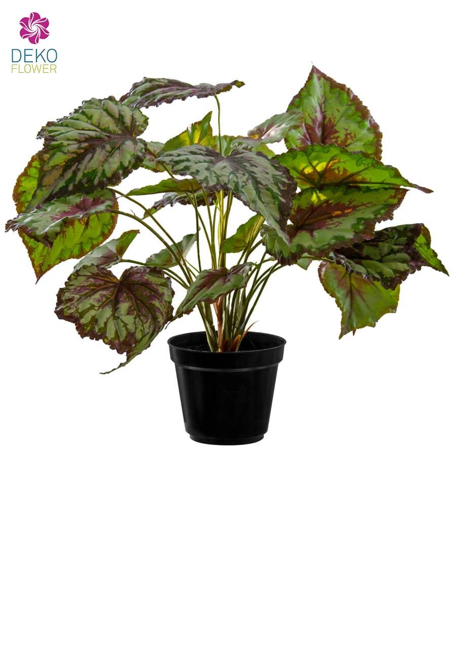 Künstliche Pflanze Begonia 34 cm