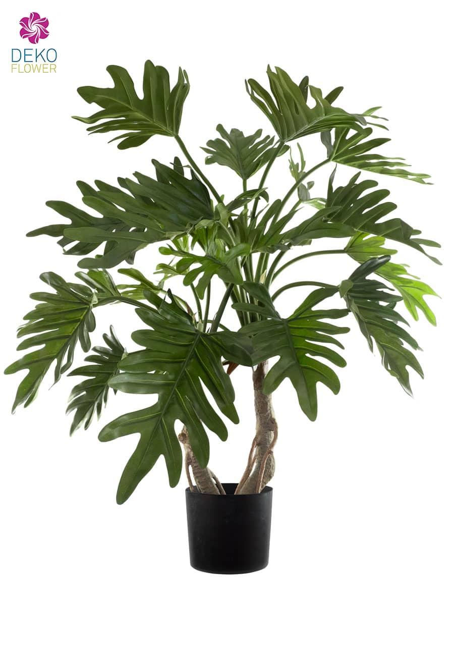 Künstliche Pflanze Philodendron Selloum 75 cm