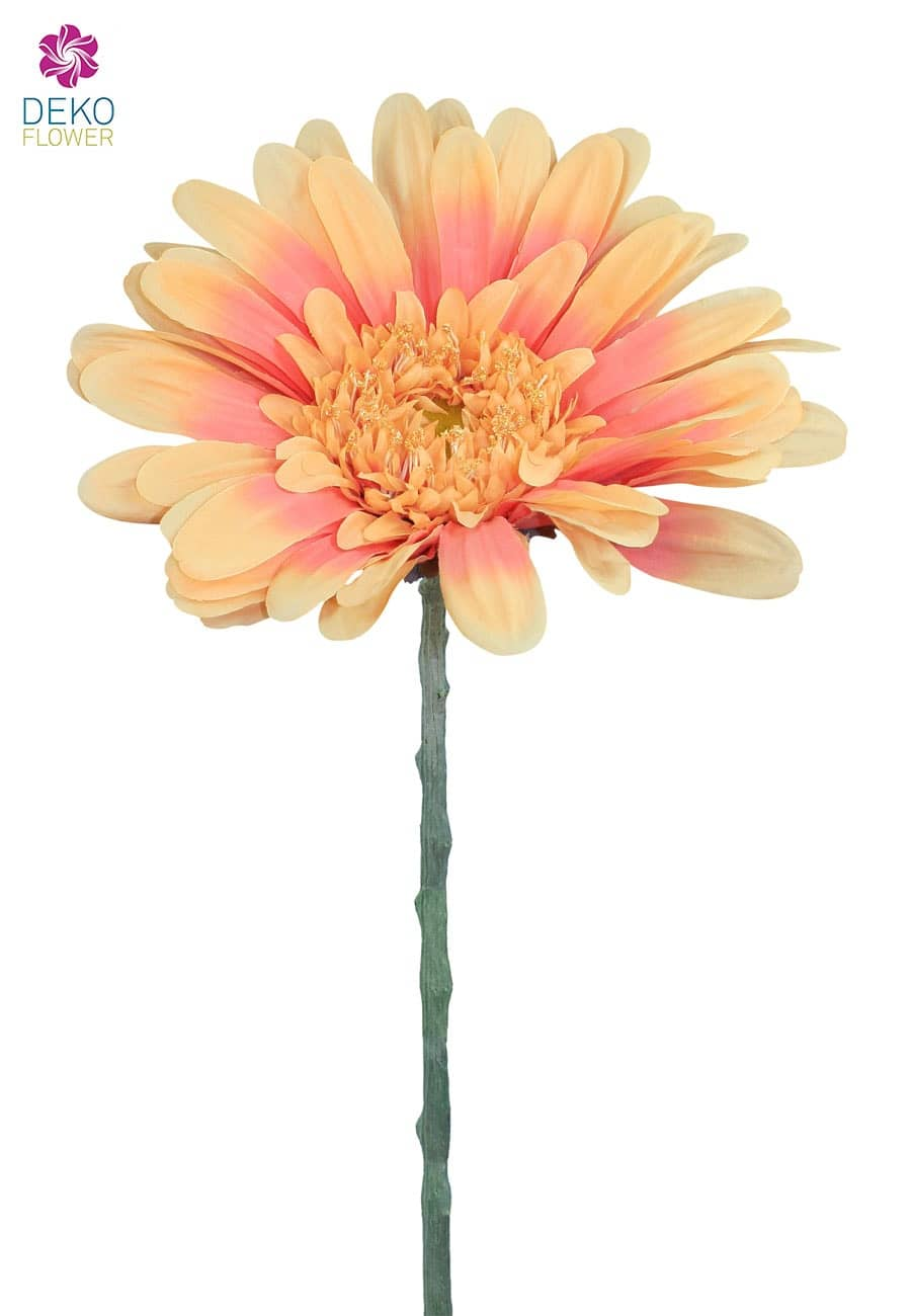Riesen Gerbera Kunstblume 110 cm lachsrosa