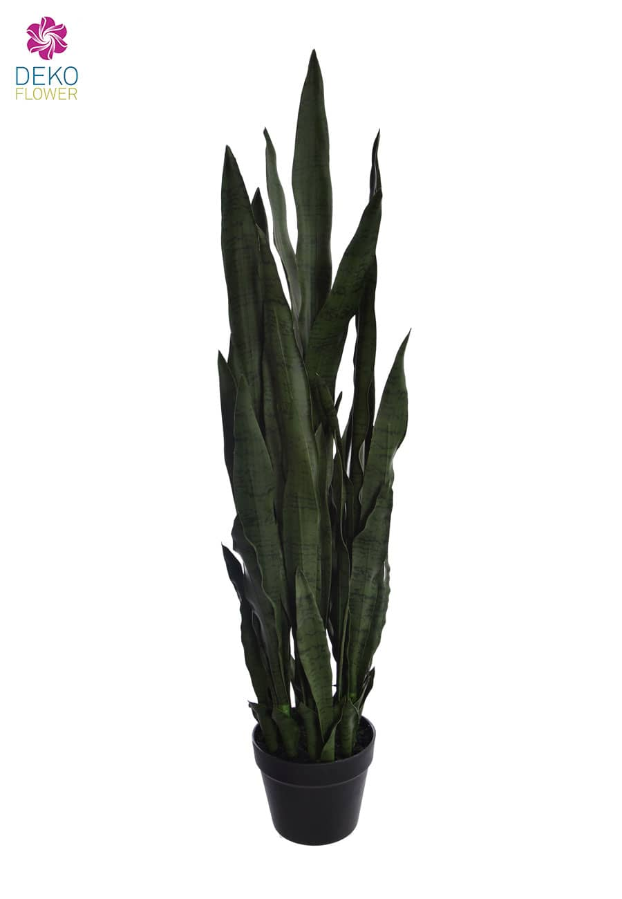 Künstliche Sansevieria grün 107 cm