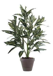 Kunstpflanze Silver King grau-grün 90cm
