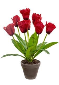 Künstliche Tulpen rot 40 cm