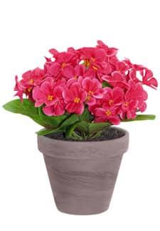 Künstliche Veilchen pink 22 cm