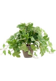 Künstliche Weinblatt Rankpflanze 29 cm getopft
