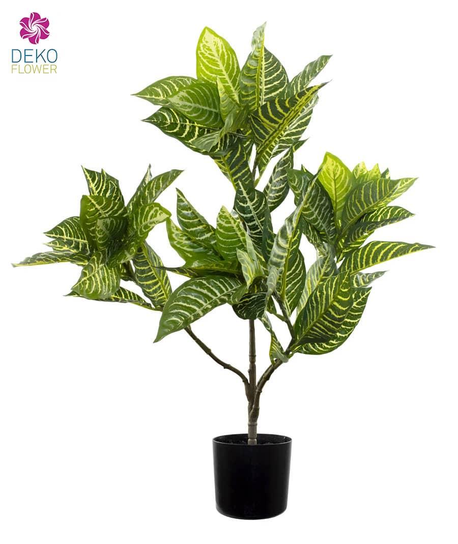 Künstliche Zebra Pflanze 67 cm